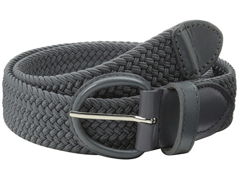 Accesorii Barbati Florsheim Braided Elastic Stretch Belt 35mm Gray