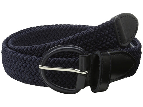 Accesorii Barbati Florsheim Braided Elastic Stretch Belt 35mm Navy