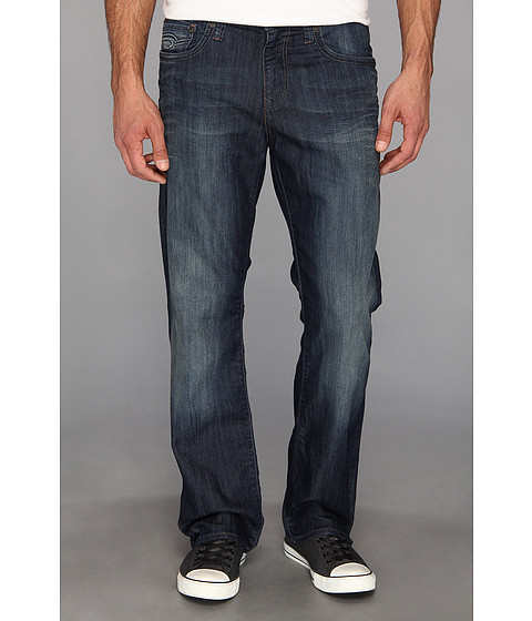 Imbracaminte Barbati Mavi Jeans Matt Mid-Rise Straight Leg in Deep Montana Deep Montana