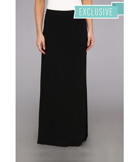 Imbracaminte Femei Michael Stars Maxi Skirt With Side Slit Black