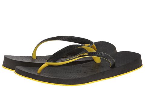 Incaltaminte Barbati Havaianas Top Tred Flip Flops BlackYellow