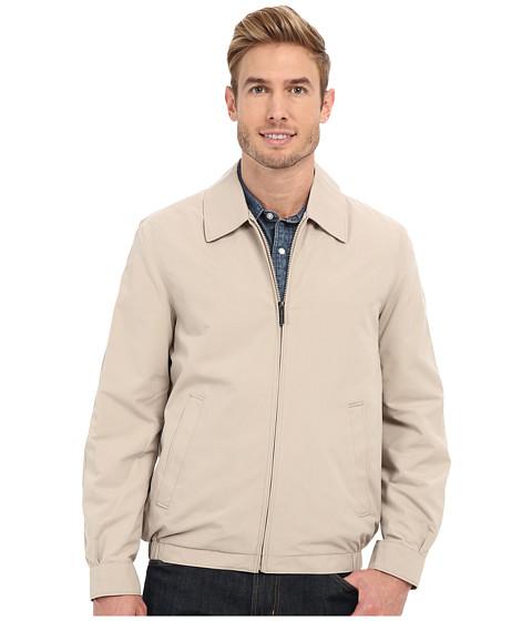 Imbracaminte Barbati Perry Ellis Microfiber Golf Jacket Sandstone