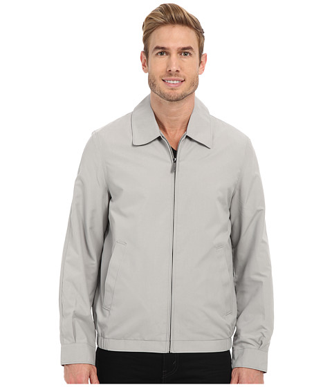 Imbracaminte Barbati Perry Ellis Microfiber Golf Jacket Alloy