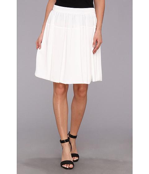 Imbracaminte Femei Calvin Klein Poly Chiffon Circle Skirt w Chiffon White