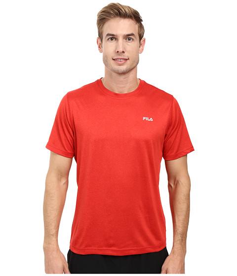Imbracaminte Barbati Fila Short Sleeve Top Chinese RedHeather