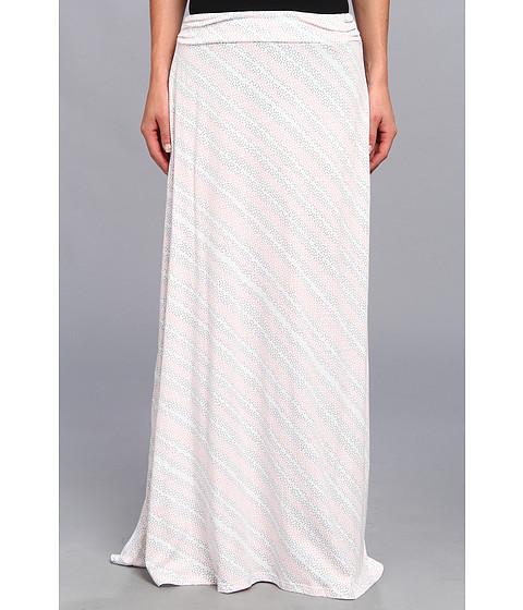 Imbracaminte Femei Alternative Apparel Printed Peony Skirt Salmon Dot Stripe