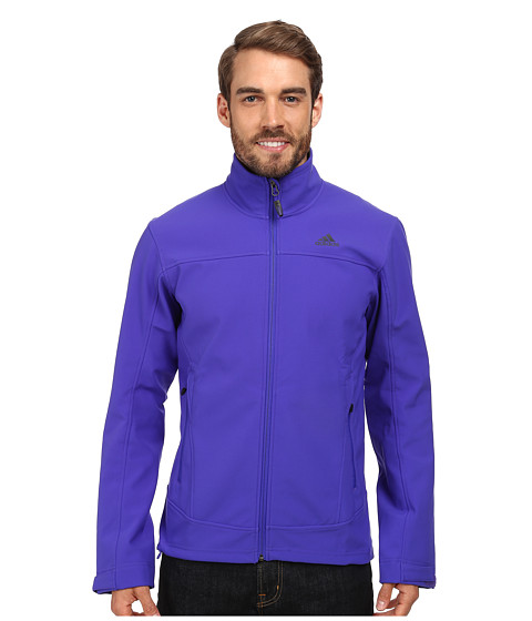 Imbracaminte Barbati adidas Outdoor Hiking Softshell Jacket Night Flash