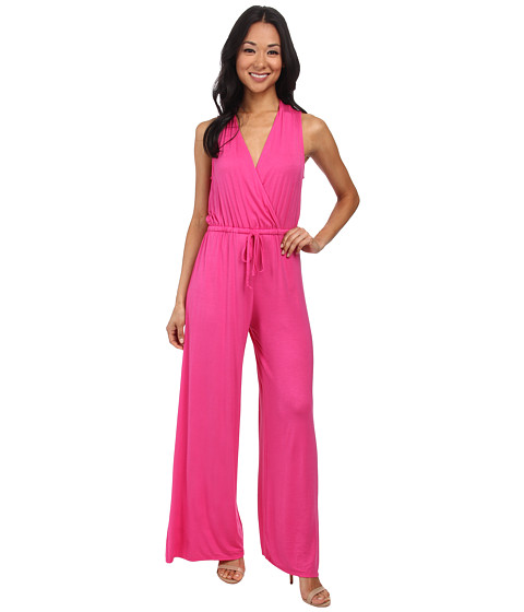 Imbracaminte Femei Culture Phit Danielle Wrap Jumpsuit Fuchsia