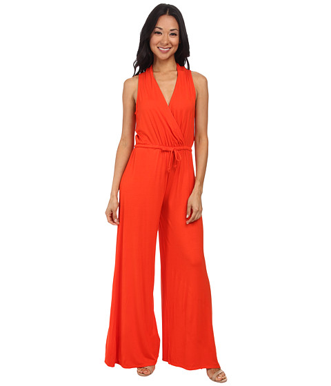 Imbracaminte Femei Culture Phit Danielle Wrap Jumpsuit Orange