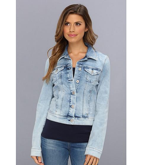 Imbracaminte Femei Mavi Jeans Samantha Denim Jacket in Bleach Vintage Bleach Vintage