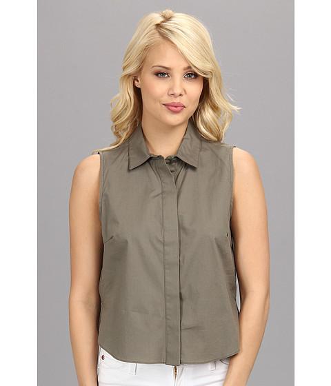 Imbracaminte Femei BCBGeneration Woven Sportswear Top DDR1S085 Dark Grey Moss