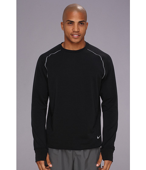 Imbracaminte Barbati Nike Dri-Fitreg Sprint Crew BlackBlackReflective Silver