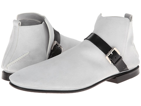 Incaltaminte Barbati Costume National Ankle Boot WhiteBlack