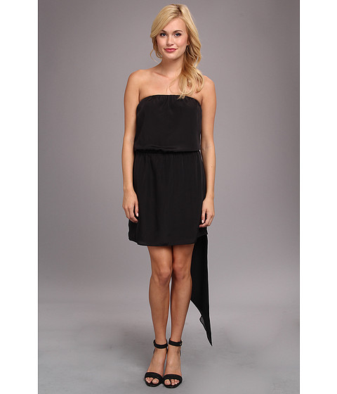 Imbracaminte Femei BCBGeneration Asymmetrical Hem Strapless Dress Black