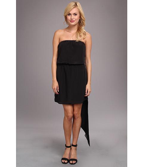 Imbracaminte Femei BCBGeneration Asymmetrical Hem Strapless Dress Black