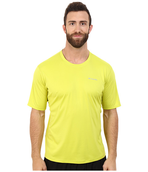 Imbracaminte Barbati Columbia Zero Rulestrade SS Shirt - Big Chartreuse