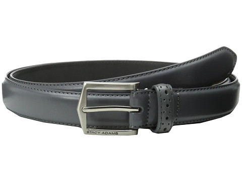 Accesorii Barbati Stacy Adams 30mm Pinseal Leather Belt X Gray
