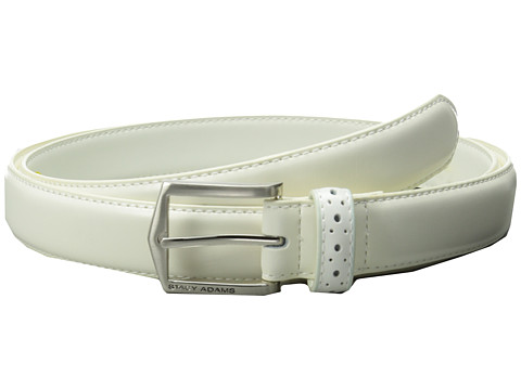 Accesorii Barbati Stacy Adams 30mm Pinseal Leather Belt X White