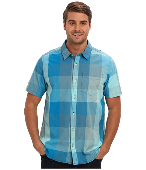 Imbracaminte Barbati Prana SS Brighton Shirt Baja Blue