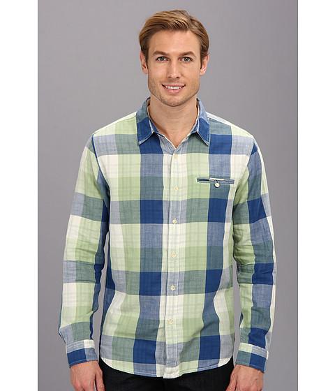 Imbracaminte Barbati Lucky Brand Bailey Shirt BlueGreen