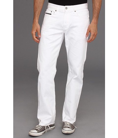 Imbracaminte Barbati US Polo Assn Slim Straight Five-Pocket Jean White