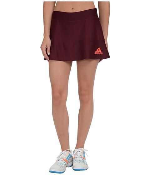 Imbracaminte Femei adidas All Premium Skort MaroonSolar Red