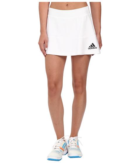 Imbracaminte Femei adidas All Premium Skort WhiteBlack