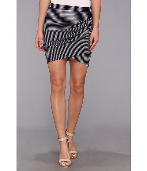 Imbracaminte Femei BCBGMAXAZRIA Sabina Knit Sportswear Skirt Dark Ink White Combo