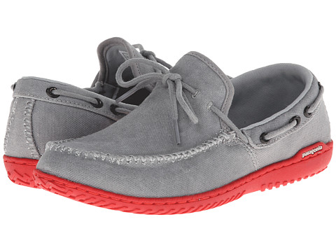 Incaltaminte femei Patagonia Kula Moc Canvas Feather Grey