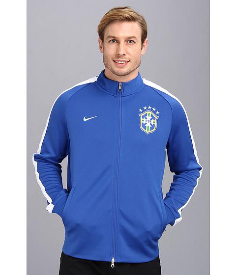 Imbracaminte Barbati Nike N98 Brazil Authentic Track Jacket Varsity RoyalWhite