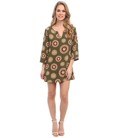 Imbracaminte Femei Christin Michaels Kathryn Shift Dress Olive Medallion