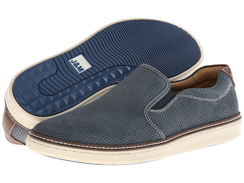 Incaltaminte Barbati Johnston Murphy McGuffy Perfed Slip-On Navy Nubuck