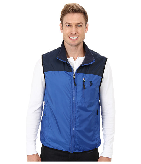 Imbracaminte Barbati US Polo Assn Color Block Flat Vest China Blue