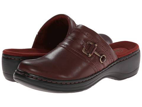 Incaltaminte Femei Clarks Hayla Merle Burgundy Leather