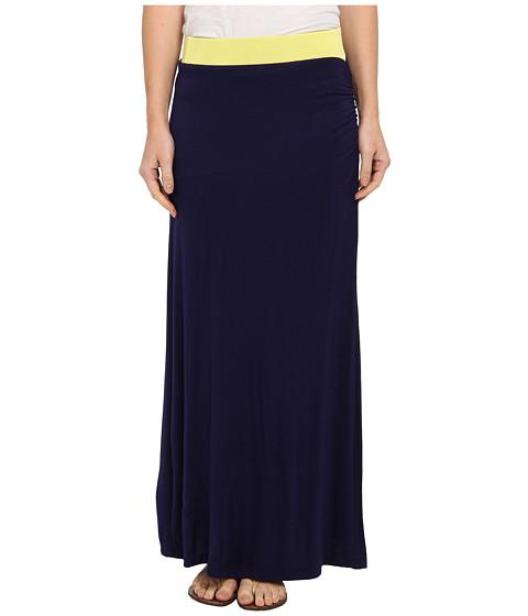 Imbracaminte Femei Gabriella Rocha Side Slit Maxi Skirt CitronNavy