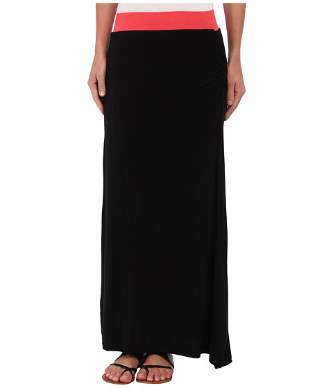 Imbracaminte Femei Gabriella Rocha Side Slit Maxi Skirt CoralBlack