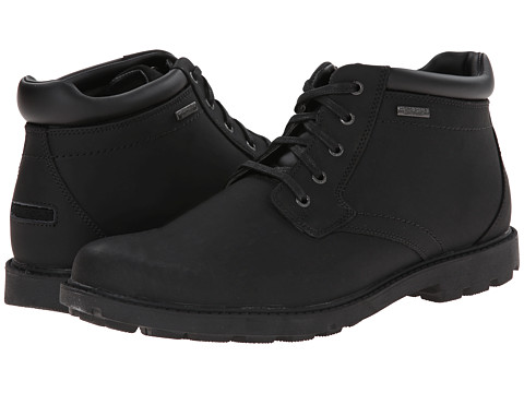 Incaltaminte Barbati Rockport Storm Surge Water Proof Plain Toe Boot Black