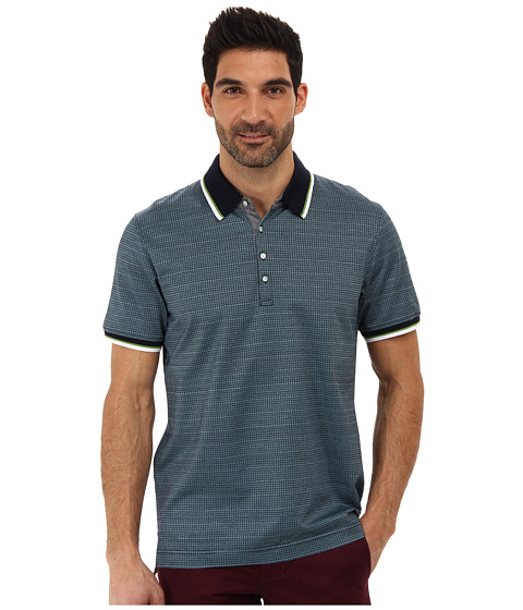 Imbracaminte Barbati Robert Graham Frederico SS Patterned Polo Navy