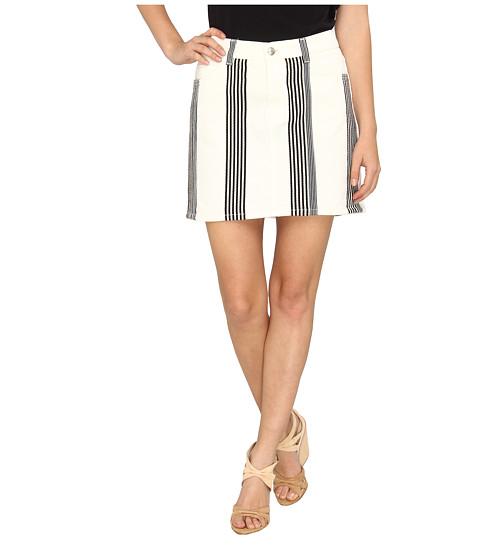 Imbracaminte Femei See by Chloe Denim Skirt w Vertical Stripe Detail Stripe DC