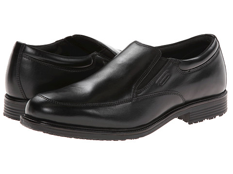Incaltaminte Barbati Rockport Lead the Pack Slip-On Black WP Leather
