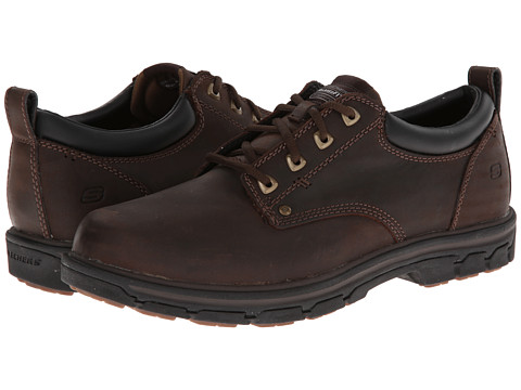 Incaltaminte Barbati SKECHERS Segment Relaxed Fit Oxford Brown