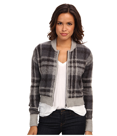 Imbracaminte Femei Free People Oh My Plaid Sweater Grey Combo