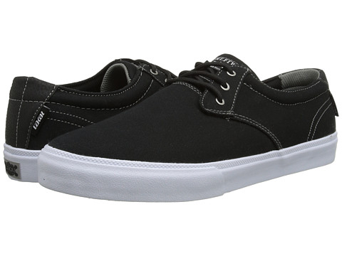 Incaltaminte Barbati Lakai MJ BlackWhite Canvas
