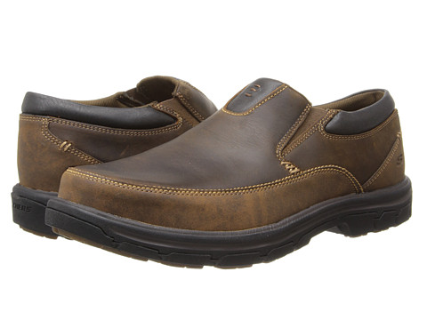 Incaltaminte Barbati SKECHERS Segment The Search Dark Brown