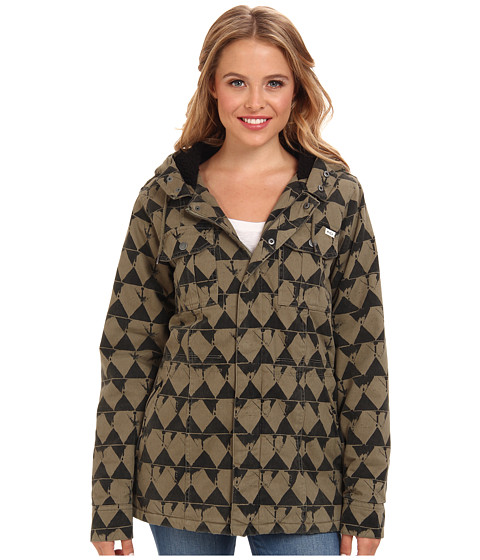 Imbracaminte Femei RVCA Mantra Jacket Dusty Olive