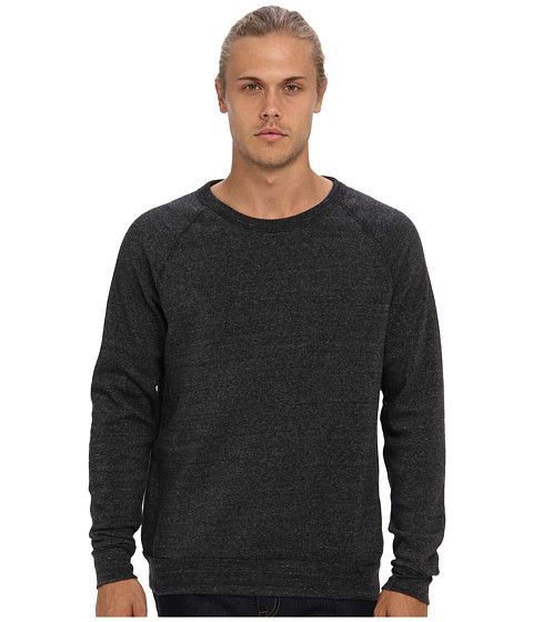 Imbracaminte Barbati Alternative Apparel Champ Eco Fleece Sweatshirt Eco Black