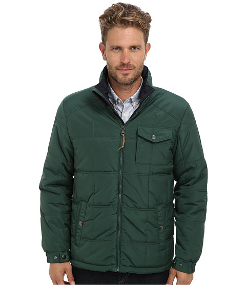 Imbracaminte Barbati IZOD Poly Quilted Puffer Forest