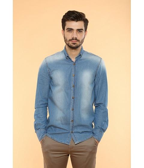 Imbracaminte Barbati Be You Camasa jeans albastru deschis Multicolor