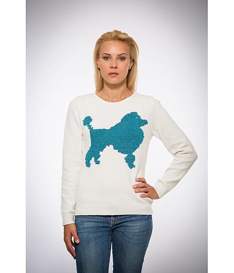 Imbracaminte Femei Be You Pulover alb catel turcoaz Multicolor