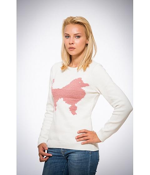 Imbracaminte Femei Be You Pulover alb catel roz Multicolor